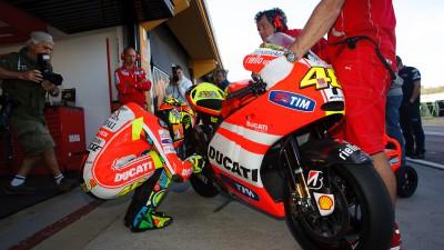 Prima sessione di test MotoGP al Ricardo Tormo