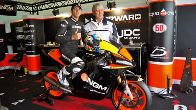 De Angelis to line up with NGM Forward Racing in 2012
