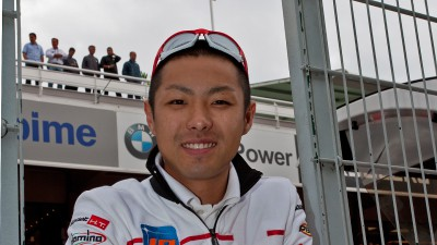Takahashi, con el NGM Mobile Forward Racing en 2012