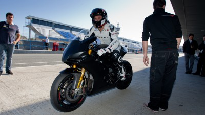 Testing continues for Moto2 and MotoGP teams