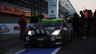 Rossi second in Monza Rally Show