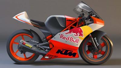 KTM présente son team Moto3