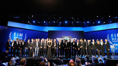 2011 FIM Gala Ceremony awards the World's best motorcyclists