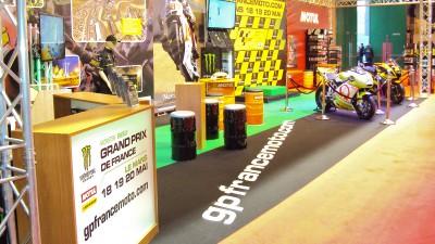 Le GP de France au Salon de la Moto de Paris