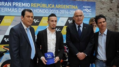 Presentation ceremony of the Argentina GP