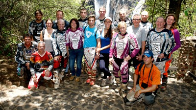 Bautista alla scoperta dell'Africa con Riders for Health
