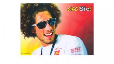 グレシーニ・レーシングが故シモンセリの追悼写真集『チャオ、シッチ!』を出版
