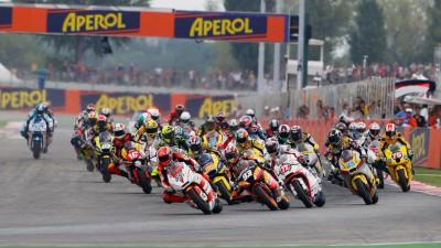 Une grille provisoire pour la saison Moto2 2012