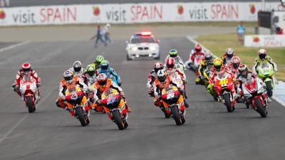 Liste provisoire des inscrits en MotoGP pour 2012