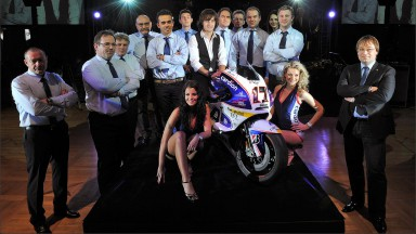 Présentation officielle du team Cardion AB Motoracing à Prague