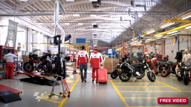 Behind the scenes at Ducati Corse