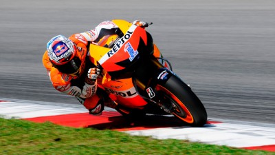 MotoGP™オフィシャルテスト2日目:C.ストーナーが最速タイムをマーク