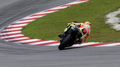 Soddisfatto Rossi, dolore alla spalla per Hayden