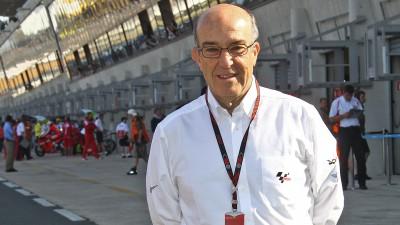 Ezpeleta comenta las medidas para reducir costes en MotoGP™