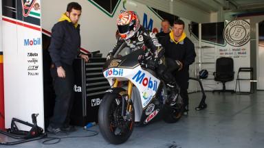Zarco prend ses marques sur la TSR de JiR Moto2