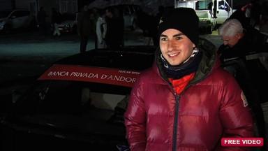 Lorenzo auf Eis