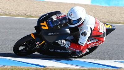 Jerez provides solid Moto3™ data for Mahindra Racing