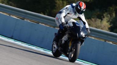 Petrucci se pone deberes tras su debut en Jerez
