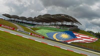 The MotoGP™ class returns to Sepang