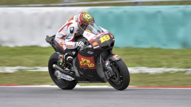 A day adjustments for Alvaro Bautista