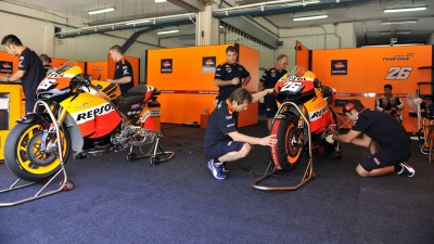 Repsol Honda Team miss today's test but is ready for tomorrow