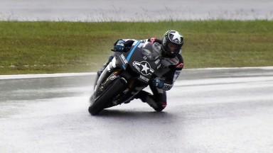 Spies lidera una segunda jornada  con lluvia en Malasia