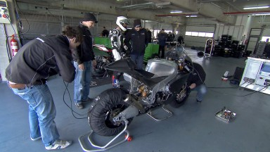 Wind limits CRT activity at Aragon