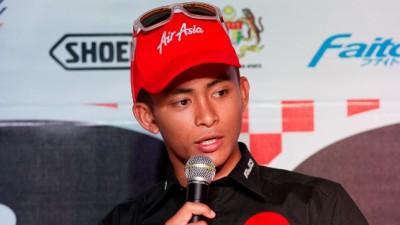 Obiettivo top10 per Khairuddin