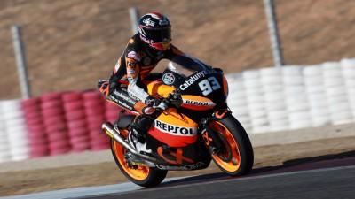 Márquez a fait son retour en piste à Albacete
