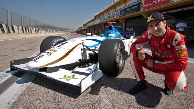 J.ロレンソがバレンシアでGP2マシンをテスト