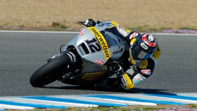 Luthi leads Moto2™ field on day one