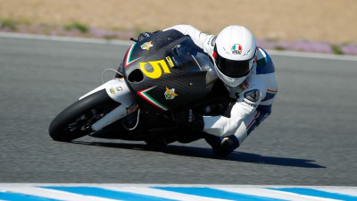 Romano Fenati crée la surprise au Test de Jerez