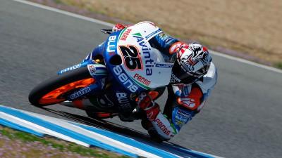 Viñales beendet zweiten Tag als Schnellster in der Moto3™