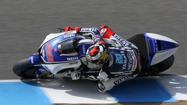 Lorenzo, con ventaja inicial en el Test MotoGP™ de Jerez