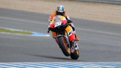 Contentment in Repsol Honda box