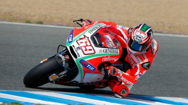 Ducati aiming to close gap after first day