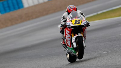 Bradl poursuit son apprentissage sur piste trempée à Jerez