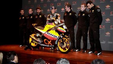 Apresentação da equipa Márquez apresentada em Barcelona