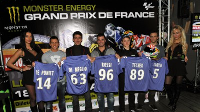 Présentation du Monster Energy Grand Prix de France à Paris
