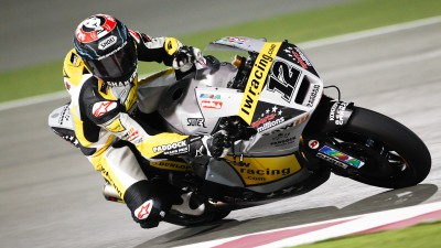 Lüthi seals top spot in qualifying