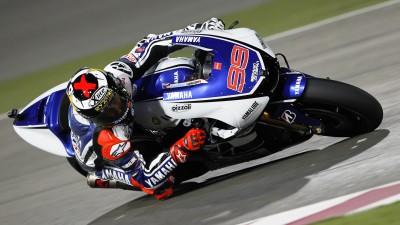 Lorenzo conquista la primera pole de MotoGP™ 2012 en Losail