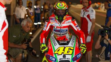 Rossi: 'Gara difficile da analizzare'