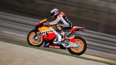 Stoner shapes up fastest in warm up