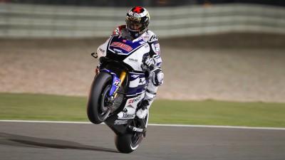 Lorenzo conquista Qatar