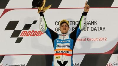 M.ビニャーレス、Moto3クラスの初代優勝者に輝く