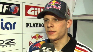 Bradl protagoniza un prometedor primer Gran Premio