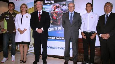 Jerez tendrá Gran Premio de MotoGP™ en 2013