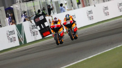 100 for Pedrosa as Stoner looks to crack Jerez