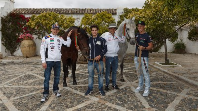 Four horsepower proves plenty for MotoGP™ contingent