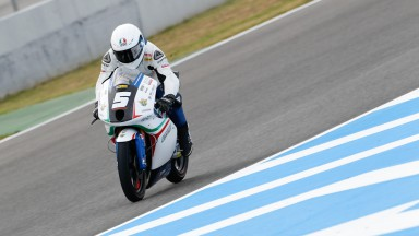 Fenati sets early pace in Jerez Moto3™ FP1